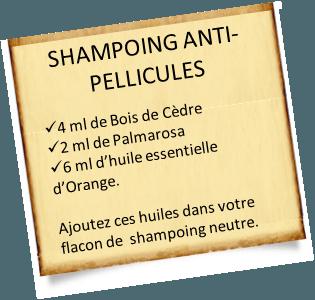 shampoing anti pellicules cèdre de l'atlas