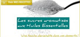 sucres aromatisés aux huiles essentielles